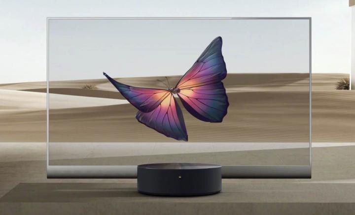 """Incrível: Xiaomi lança TV OLED de 55"""" com ecrã transparente"""