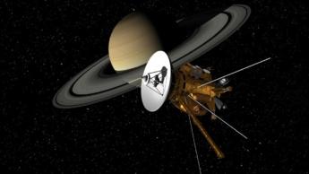 Ilustração de 5 naves interestelares da NASA
