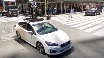 Imagem do carro Subaru da Apple Mapas