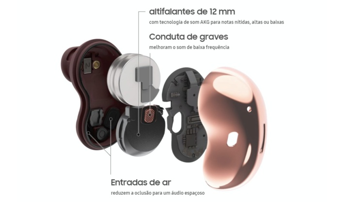 Análise: Galaxy Buds Live, os earburds mais