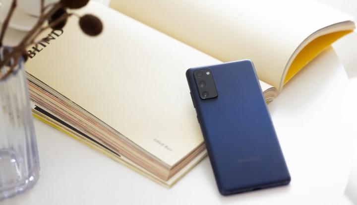 Imagem das câmaras do Samsung Galaxy FE