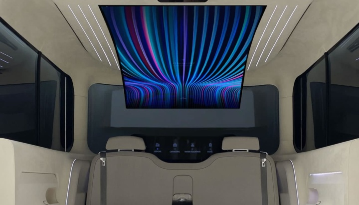 Imagem interior do carro elétrico Hyundai IONIQ