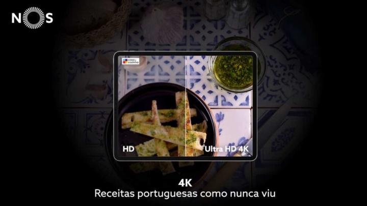 NOS TV: A primeira App de televisão com conteúdos 4K em Portugal