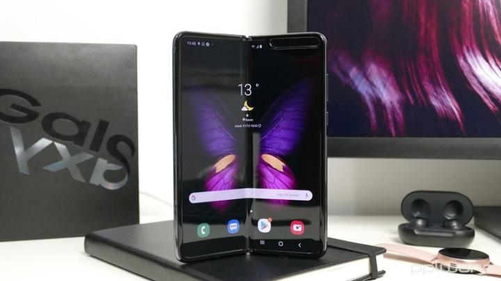 Samsung Z Fold Lite dobrável smartphones ecrã