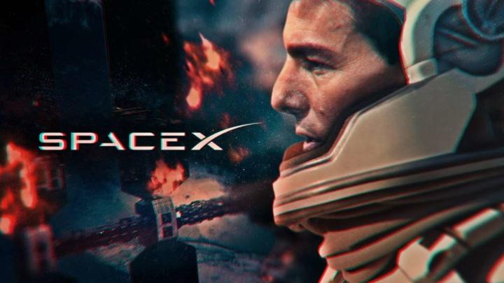 SpaceX Tom Cruise espaço Crew Dragon viagem
