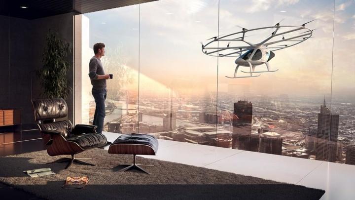 Volocopter - Primeiras corridas de táxi voador já podem ser reservadas