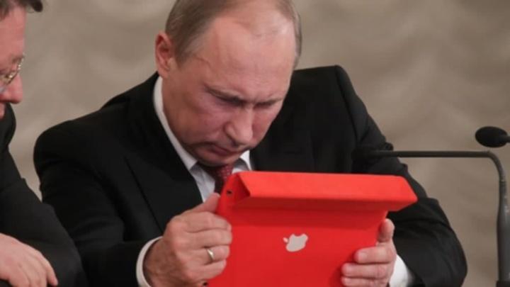 Ilustração App Store na Rússia com conflito de comissões