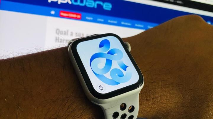 Ilustração Apple Watch 6