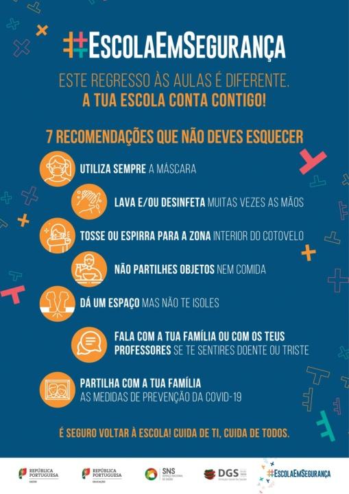 #EscolaEmSegurança: As novas regras para o regresso às aulas