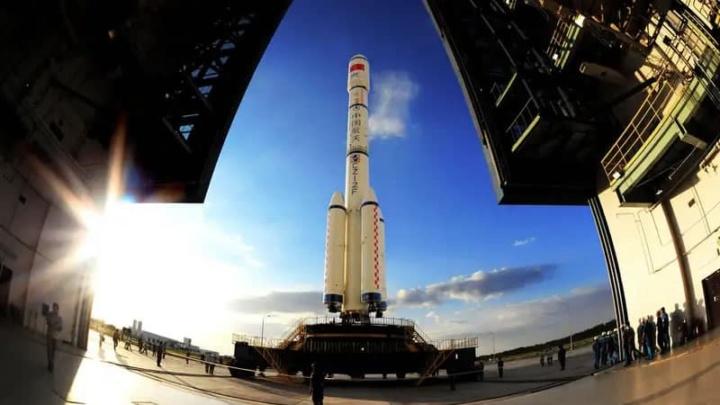 Imagem nave espacial da China