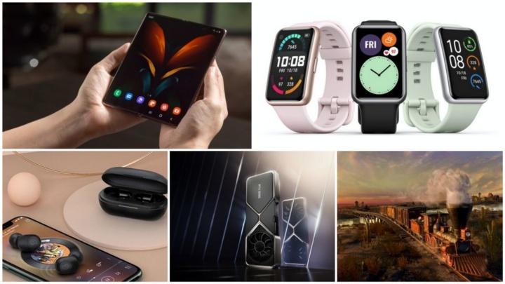 E os destaques tecnológicos da semana que passou foram... - Samsung Galaxy Z Fold2, Samsung 980 Pro, Huawei Watch Fit, Nvidia RTX