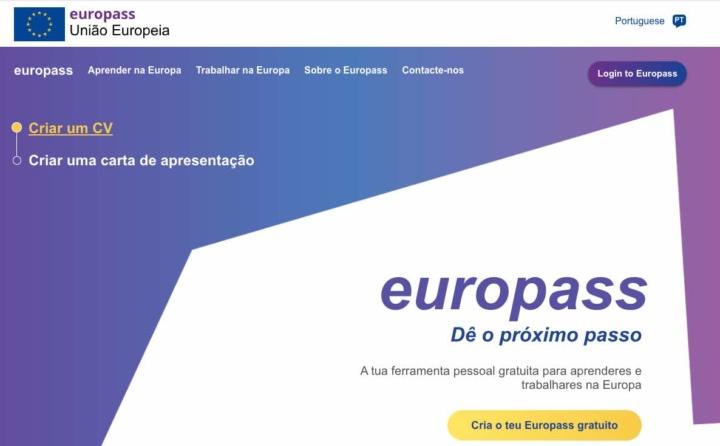 Europass: Já conhece a nova plataforma? Renove já o seu CV