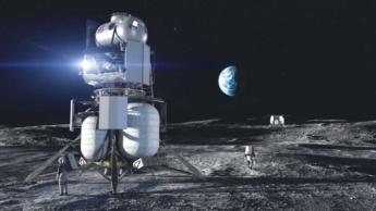 Imagem exploração da Lua pela NASA