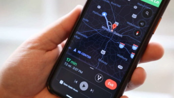 Google Maps dark mode apps interface