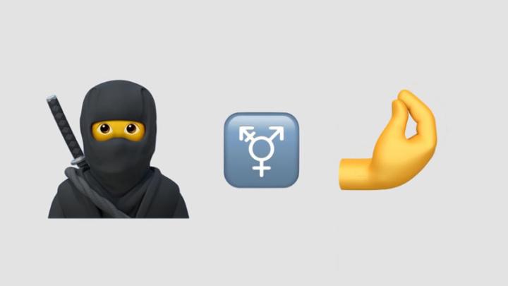 Imagem dos emojis que apareceram no iOS 14.2 beta 2