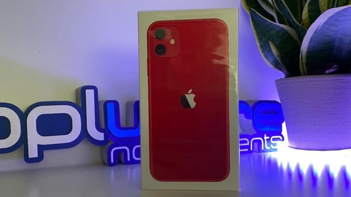 Imagem iPhone 11 Red
