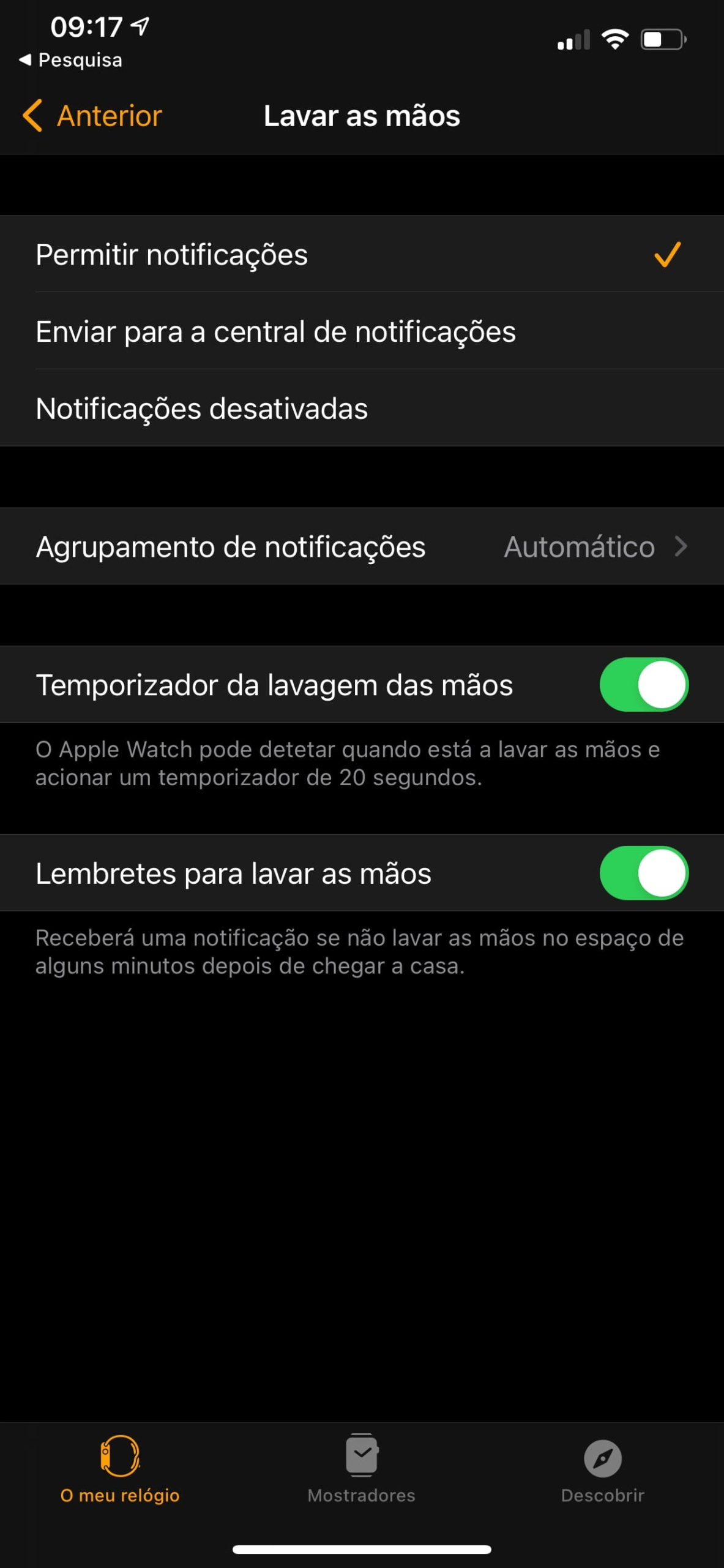 iphone 04 scaled - O seu Apple Watch agora lembra-o de lavar as mãos