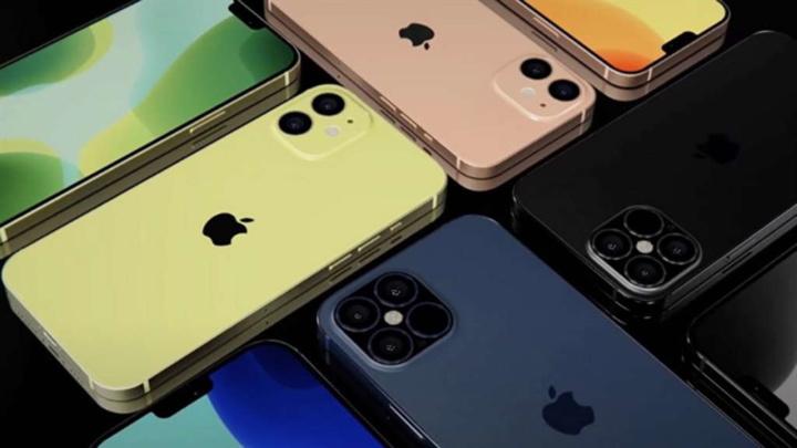 Ilustração iPhone 12 mini, iPhone 12 Pro e iPhone 12 Pro Max