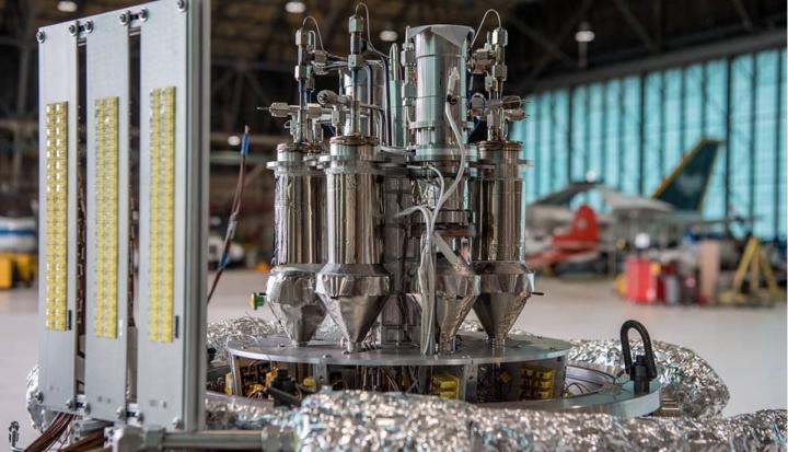 Protótipo Kilopower para produção de energia nuclear da NASA