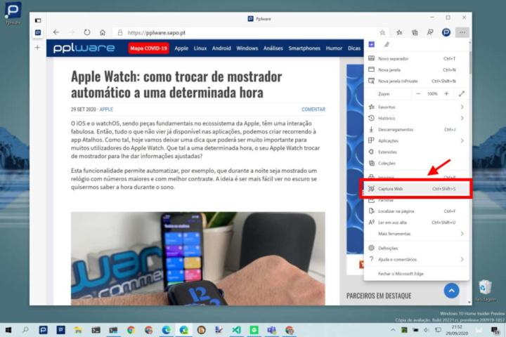 Edge Microsoft browser novidade ferramenta