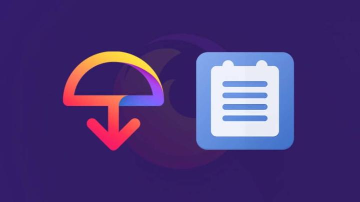 Firefox Mozilla Send Notes serviço