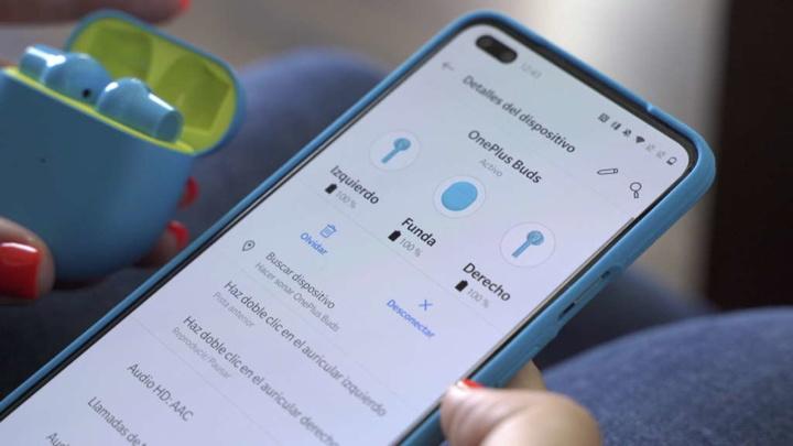 OnePlus Buds problemas som auscultador