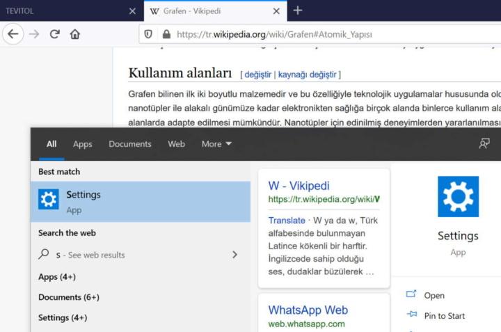 Windows 10 pesquisa Bing Internet Microsoft