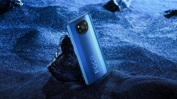 Chegou o novo smartphone POCO X3 NFC com design original desde 199 euros