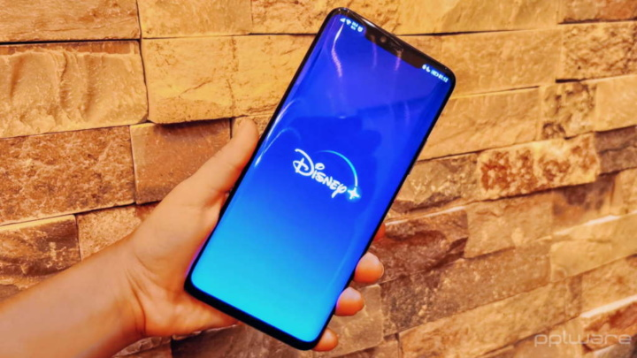Disney+ smartphone dados app streaming