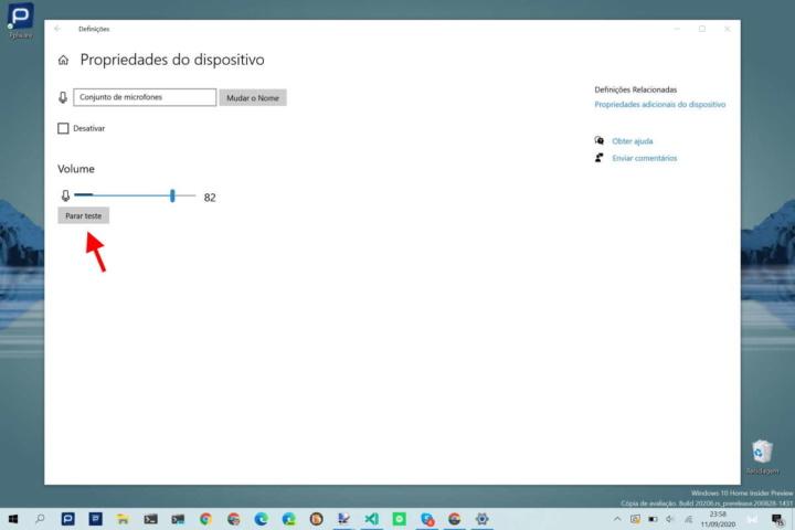 Windows 10 microfone problemas ferramentas