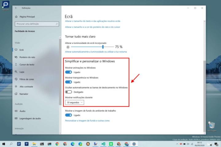 Windows 10 rápido Microsoft alteração utilizadores