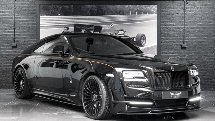 Imagem Rolls-Royce que já pensa no carro elétrico
