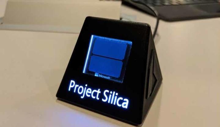 Primeiro disco rígido de 1 petabyte de informação pode conter vidro