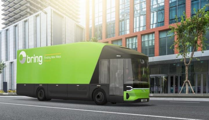 Imagem Volta Zero, camião 100% elétrico