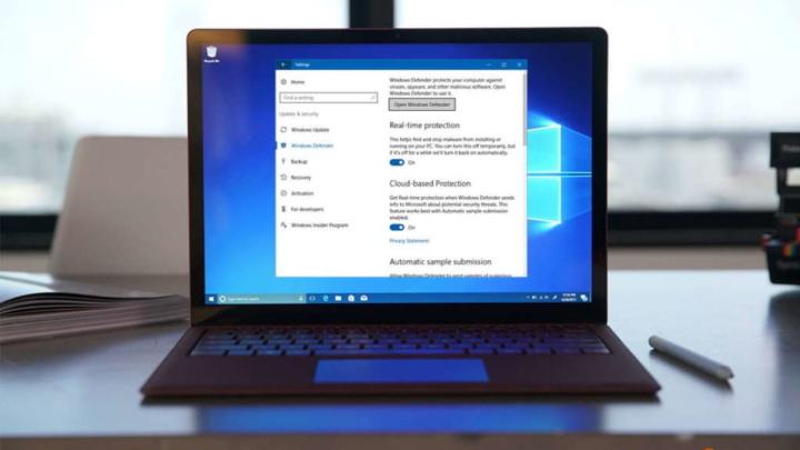 Windows Defender Microsoft registo Windows 10 segurança
