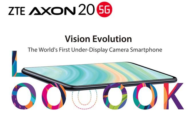 É oficial! ZTE Axon 20 5G é o primeiro smartphone com câmara debaixo do ecrã
