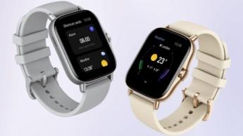 Smartwatches Amazfit GTR 2 e GTS 2 chegam em breve ao mercado global