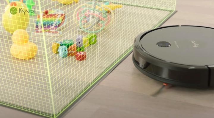 Robô aspirador Kyvol Cybovac E31 Mop - a solução para a sua casa (mas a baixo preço)