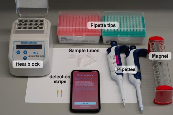 COVID-19: MIT cria teste STOPCovid barato para usar todos os dias