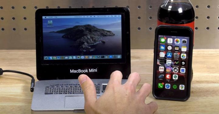 Conheça o mais pequeno MacBook Pro do mundo... com Raspberry Pi