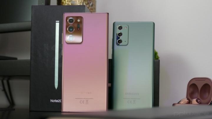Diferenças entre o Samsung Galaxy Note20 Ultra e o Samsung Galaxy Note20