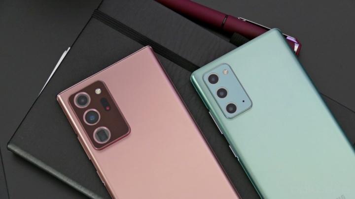 Note Galaxy Samsung smartphones linha