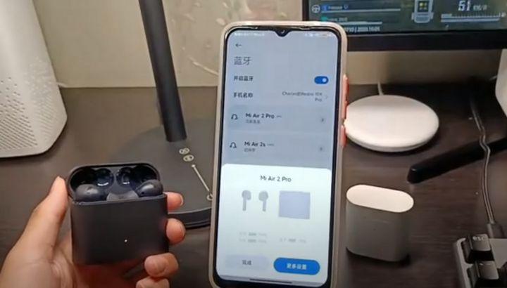 Xiaomi Mi Air 2 Pro - vídeo revela design e especificações dos novos earbuds
