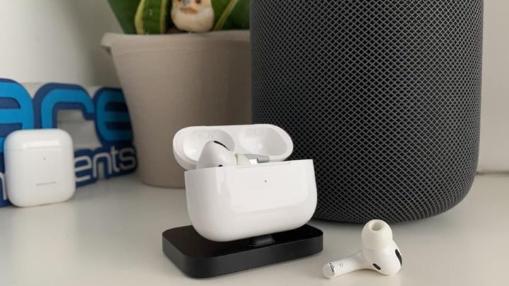 Imagem auscultadores AirPod Pro da Apple