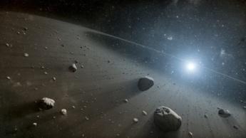 Imagem do asteroide 2000 WO107 que está a ser vigiado pela NASA a caminho da Terra