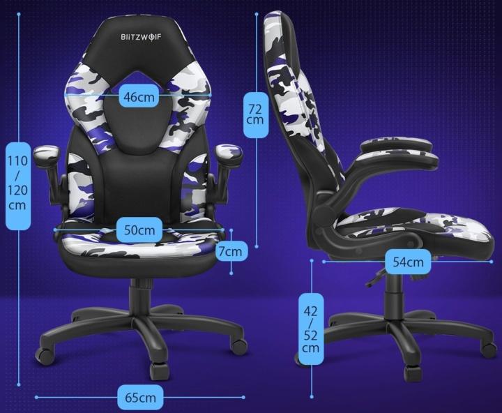 BlitzWolf BW-GC4 - Cadeira gaming