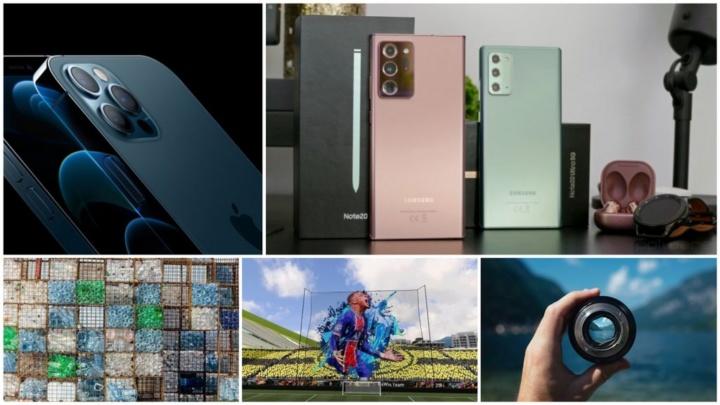 E os destaques tecnológicos da semana que passou foram... - Apple iPhone 12, OnePlus 8T, Huawei Mate 40