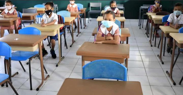 Sala de aula com 24 alunos! Como é que o coronavírus se propaga?