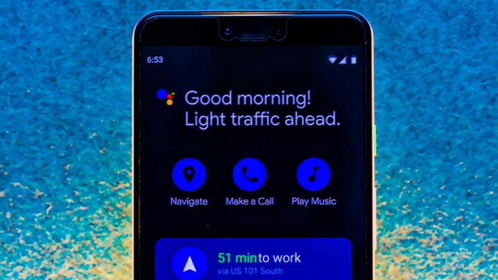 Google Assistant Driving Mode Auto Maps Android