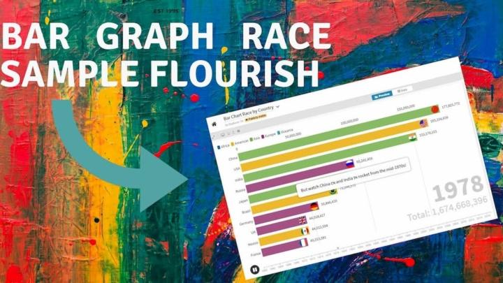 Flourish: Crie gráficos fantásticos e intuitivos facilmente online